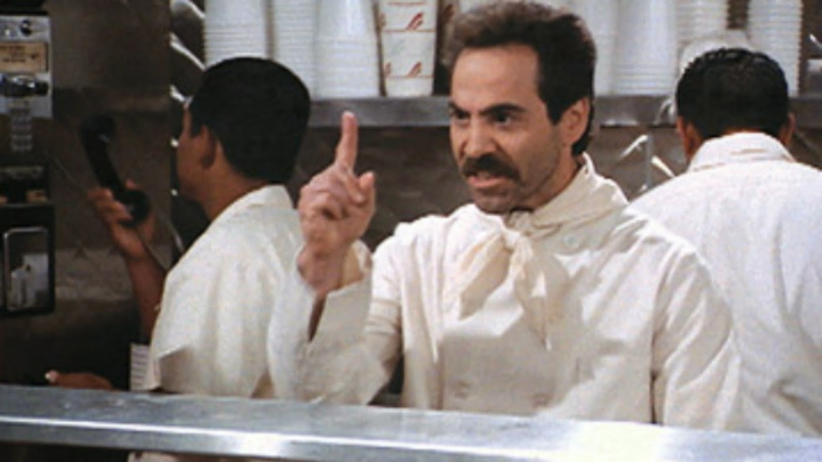 The Soup Nazi is Alive and Well. Bad Plan