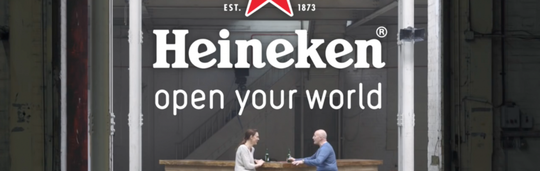 Management 101, brought to you by Heineken.
